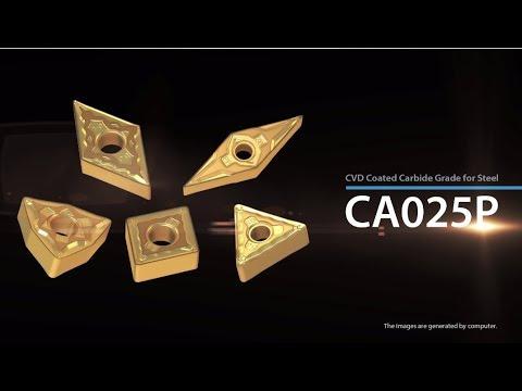Công nghệ lớp phủ CA025P từ Kyocera Cutting Tools giúp tối đa hóa hiệu suất tiện Thép