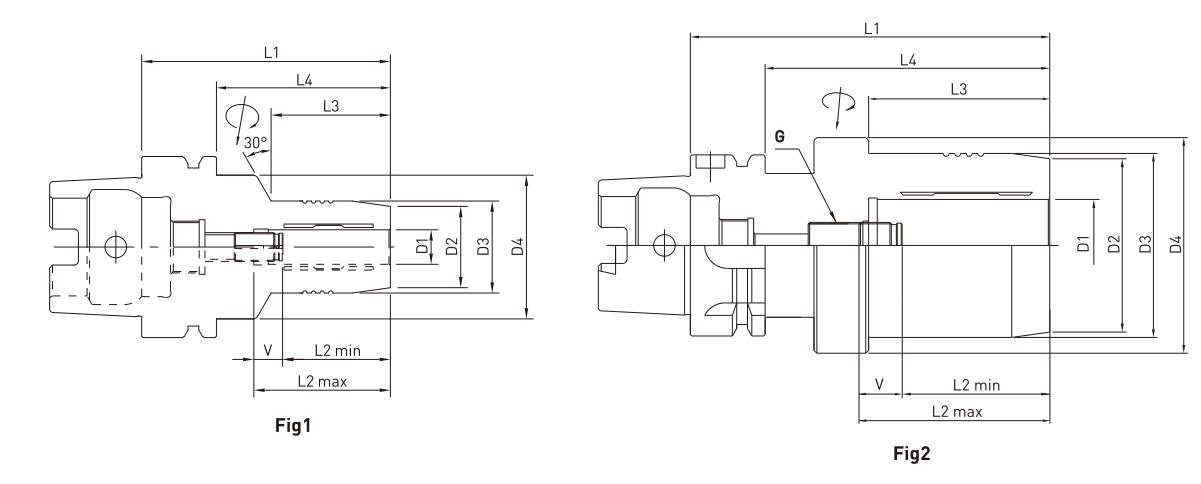 ĐẦU KẸP THỦY LỰC HSK50A - HSK63A - HSK100A JE-IL - 2