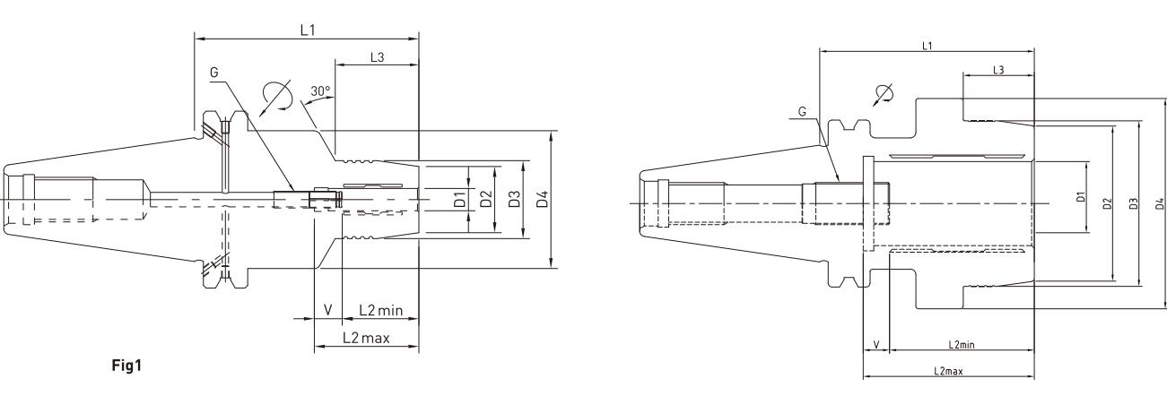 ĐẦU KẸP THỦY LỰC SK JE-IL SK40 - SK50 - 2