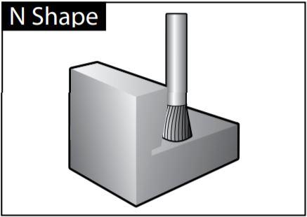 mũi mài dạng N-SHAPE