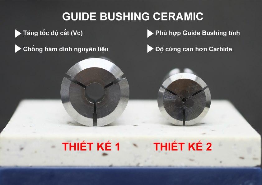 Guide Bushing là gì? Sự khác nhau giữa Guide Bushing động và Guide Bushing tĩnh