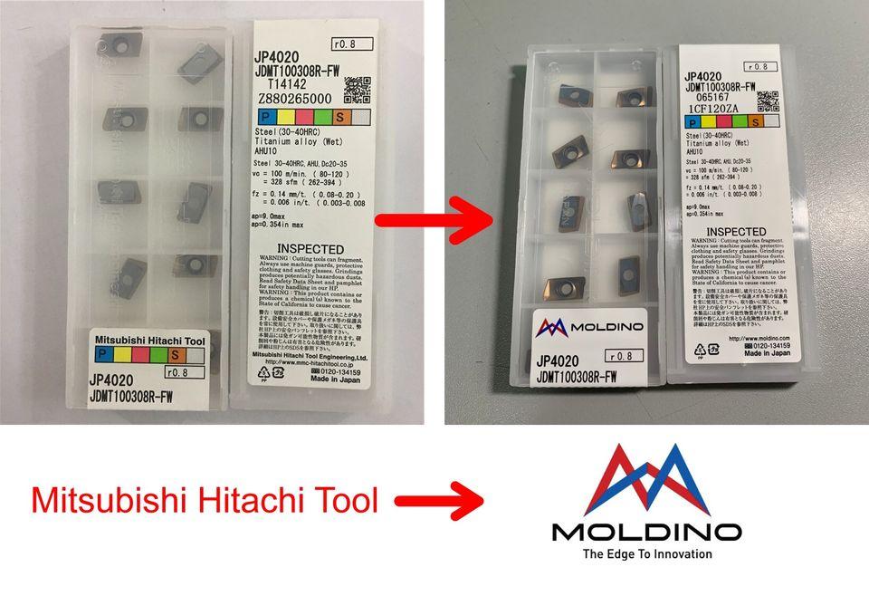Hitachi đổi tên thành MOLDINO