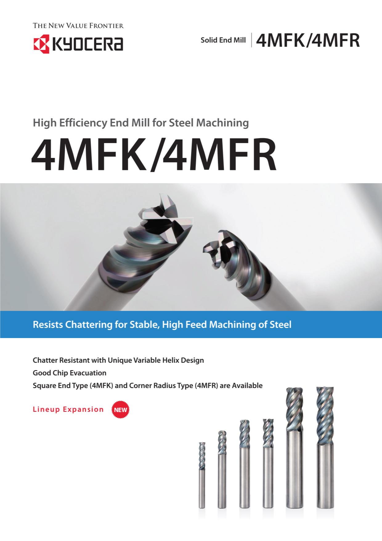 Dao Phay Hợp Kim Kyocera 4MFK - 4MFR 1