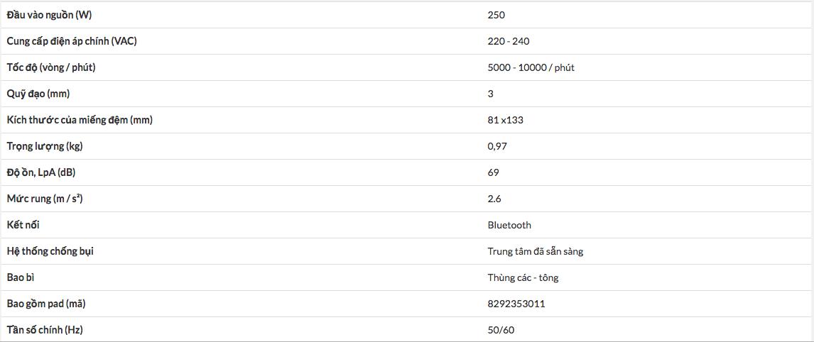 MÁY CHÀ NHÁM ĐIỆN MIRKA DEOS 353CV 81x133mm MID3530201 -4