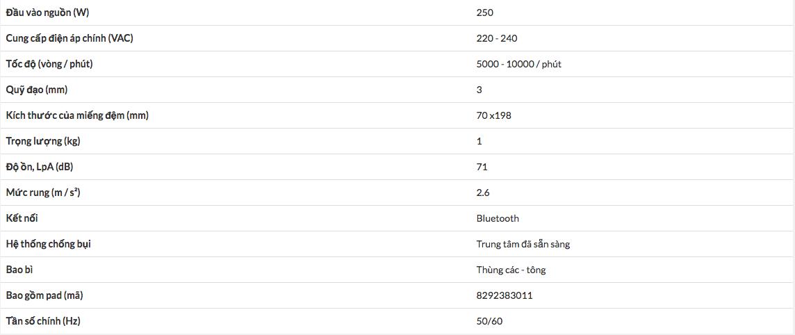 MÁY CHÀ NHÁM ĐIỆN MIRKA DEOS 383CV 70x198mm MID3830201 -2