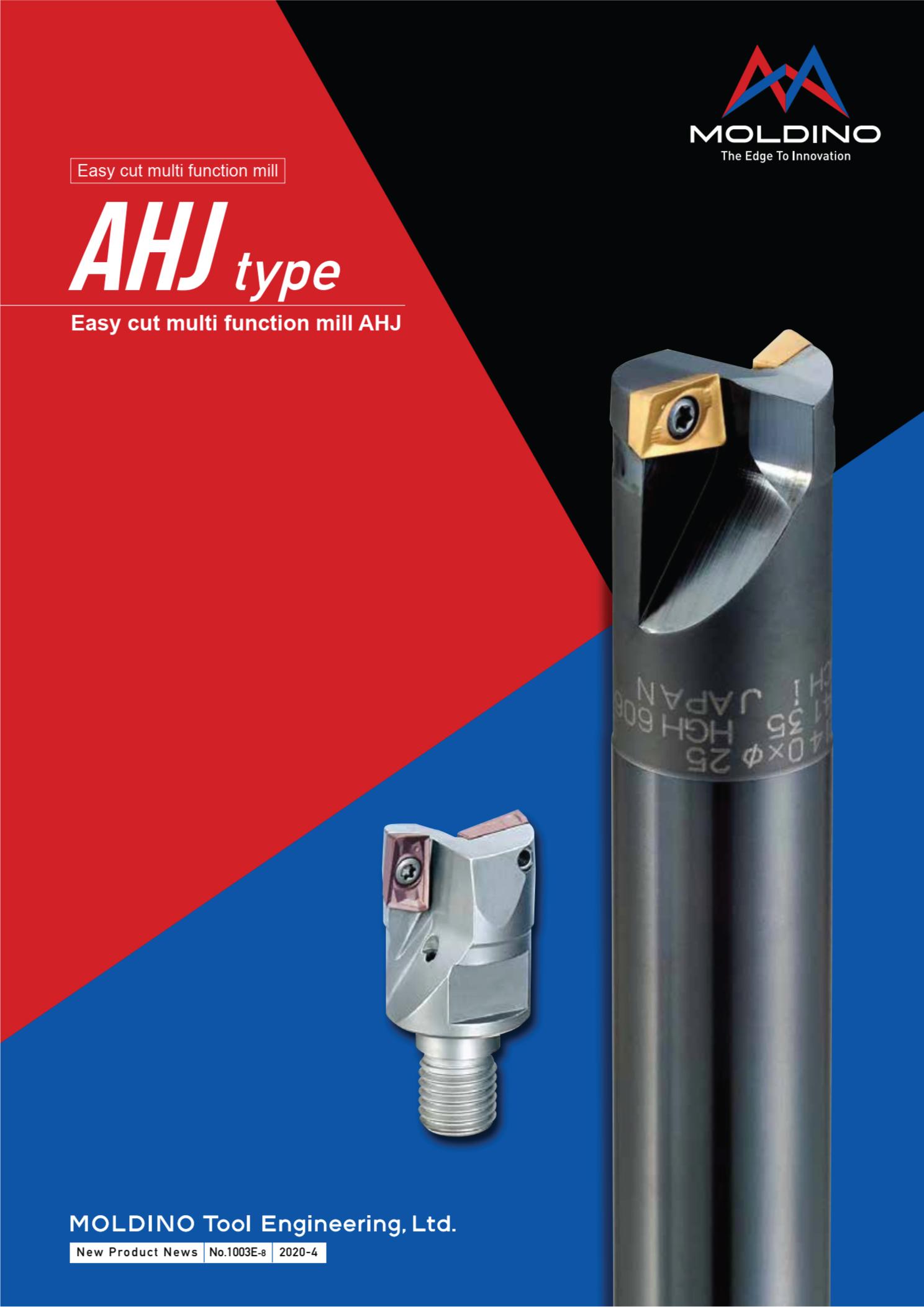 Dao Phay Gắn Mảnh Hitachi Moldino AHJ 1