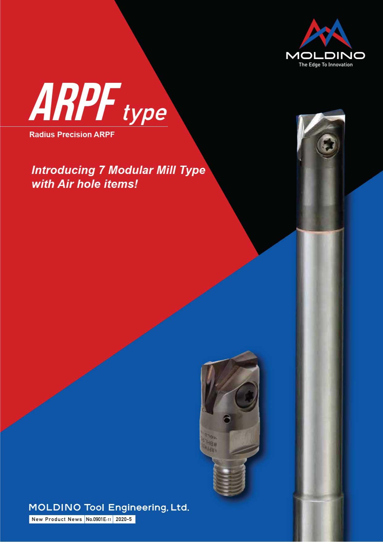 Dao Phay Gắn Mảnh Hitachi Moldino ARPF 1