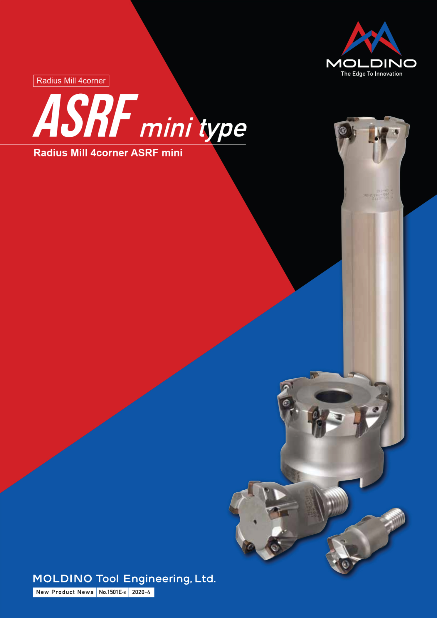 Dao Phay Gắn Mảnh Hitachi Moldino ASRF Mini 1