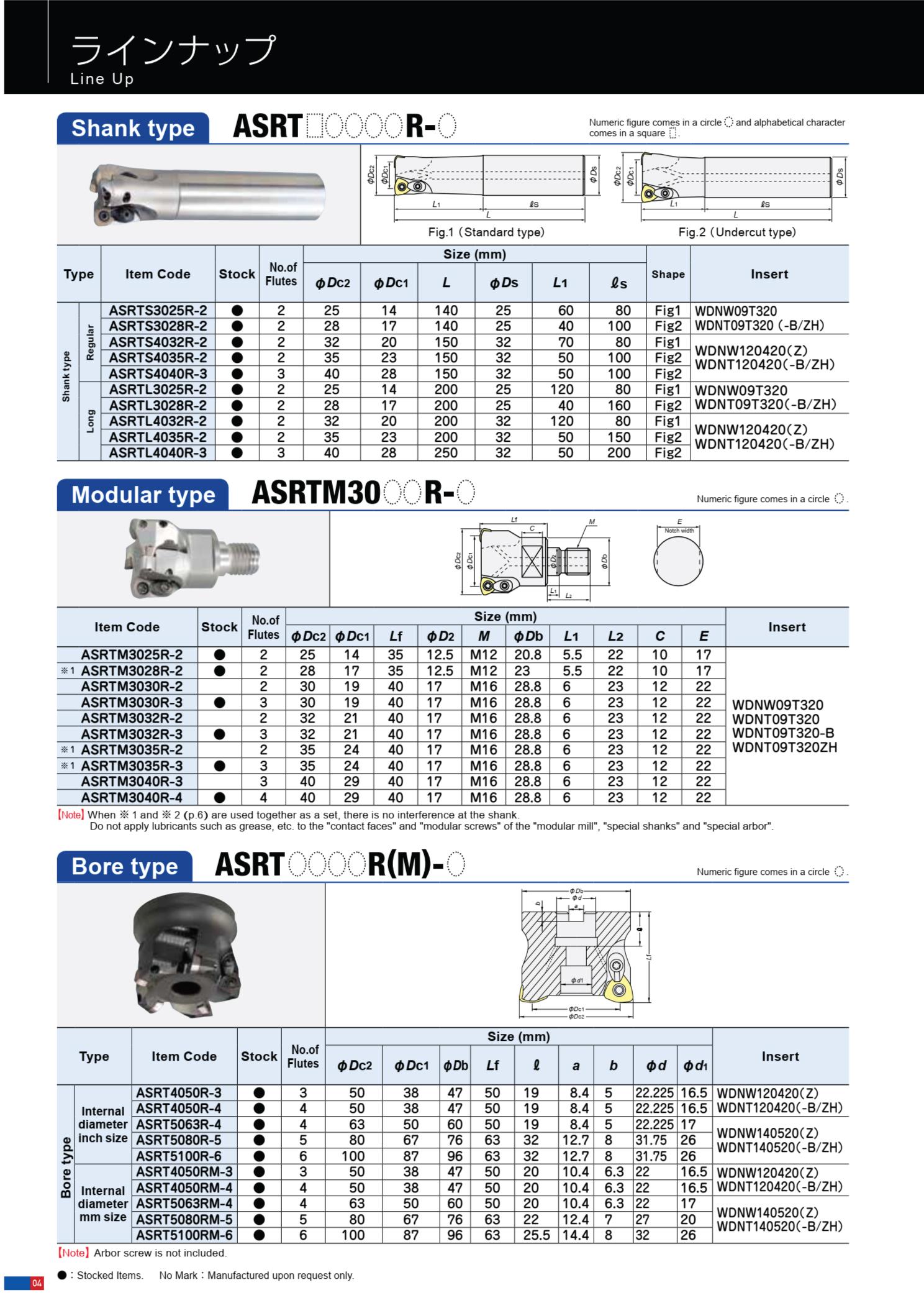 Dao Phay Gắn Mảnh Hitachi Moldino ASRT 4