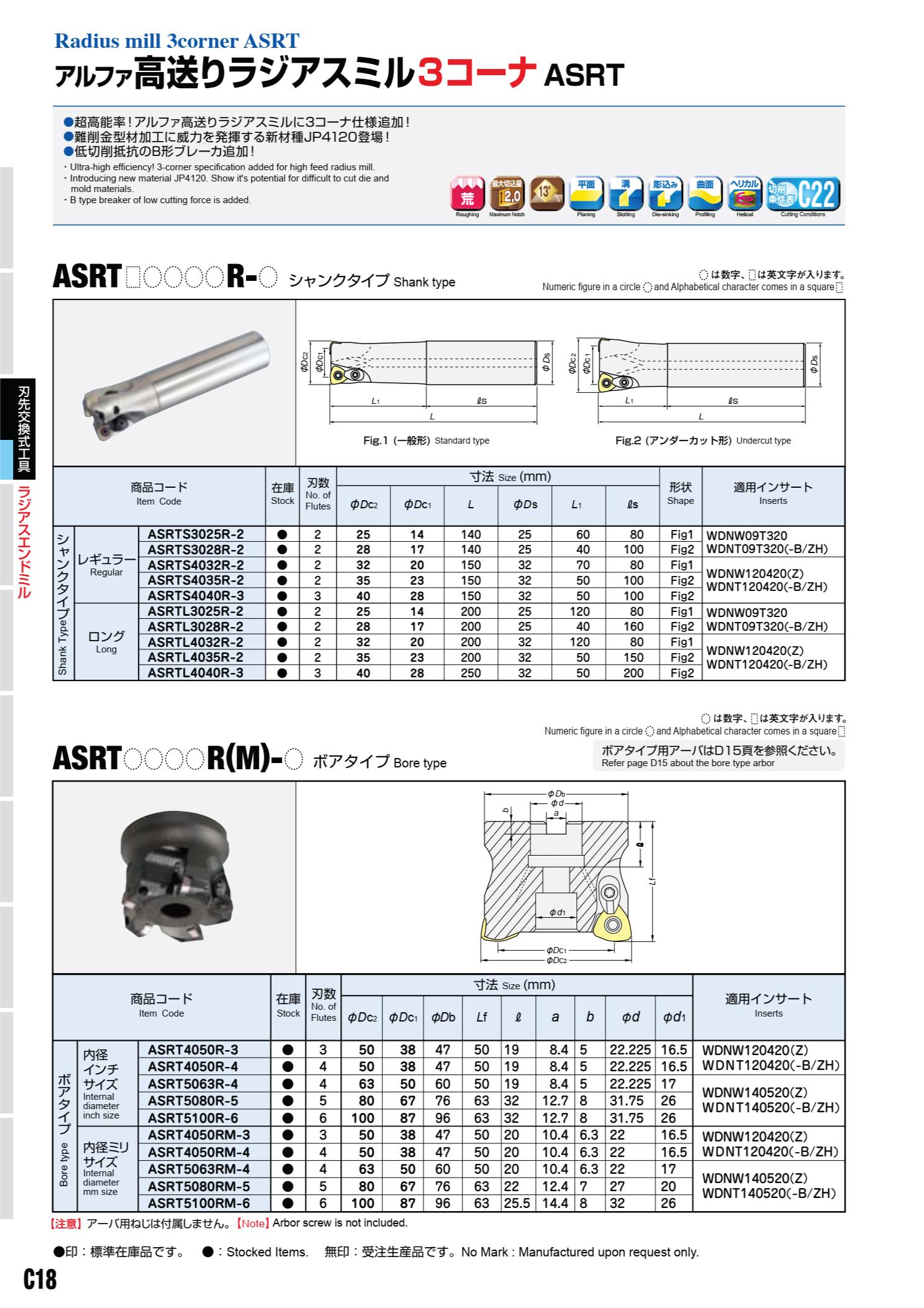 Mảnh Insert Phay Hitachi Moldino WDNW - WDMT Lắp Cán Dao ASRT 2