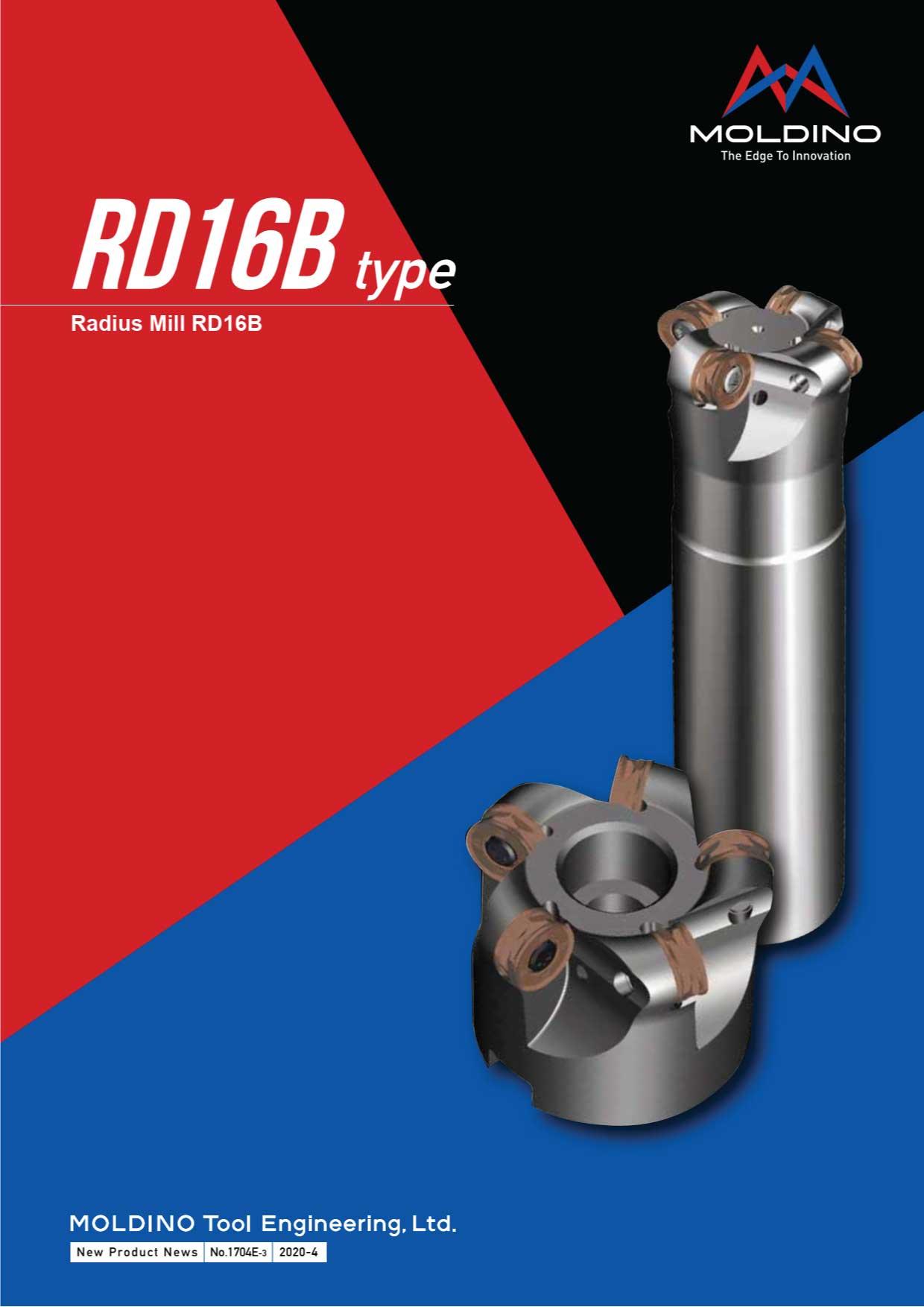 Dao Phay Gắn Mảnh Hitachi Moldino RD16B 1