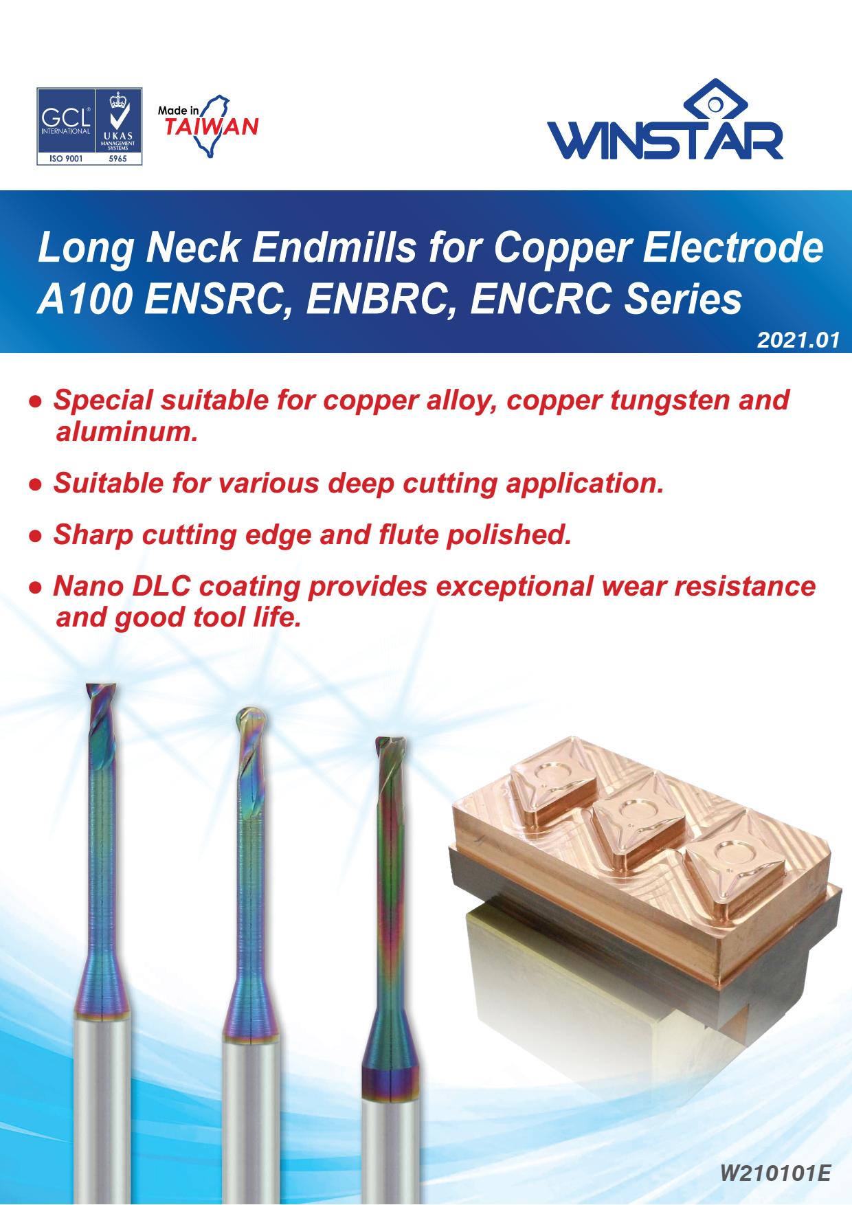 Dao Phay Điện Cực Đồng Winstar A100 ENSRC-ENBRC-ENCRC 1