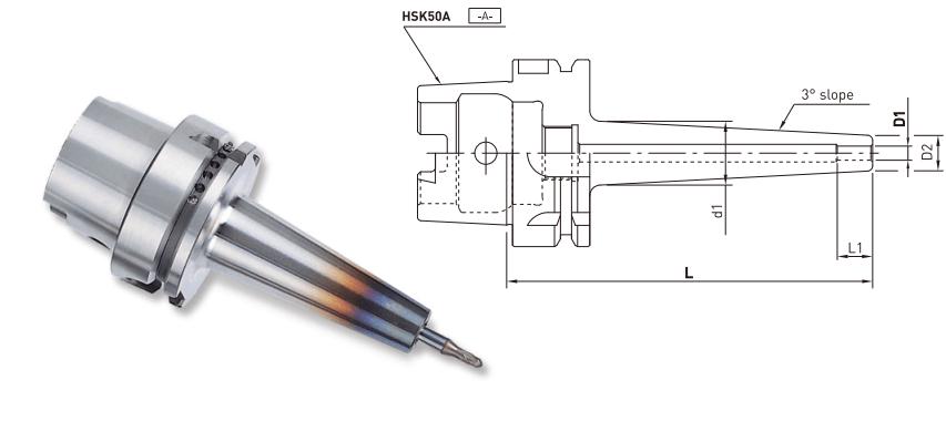 ĐẦU KẸP NHIỆT HSK50A - HSK63A - HSK100A JE-IL - 2