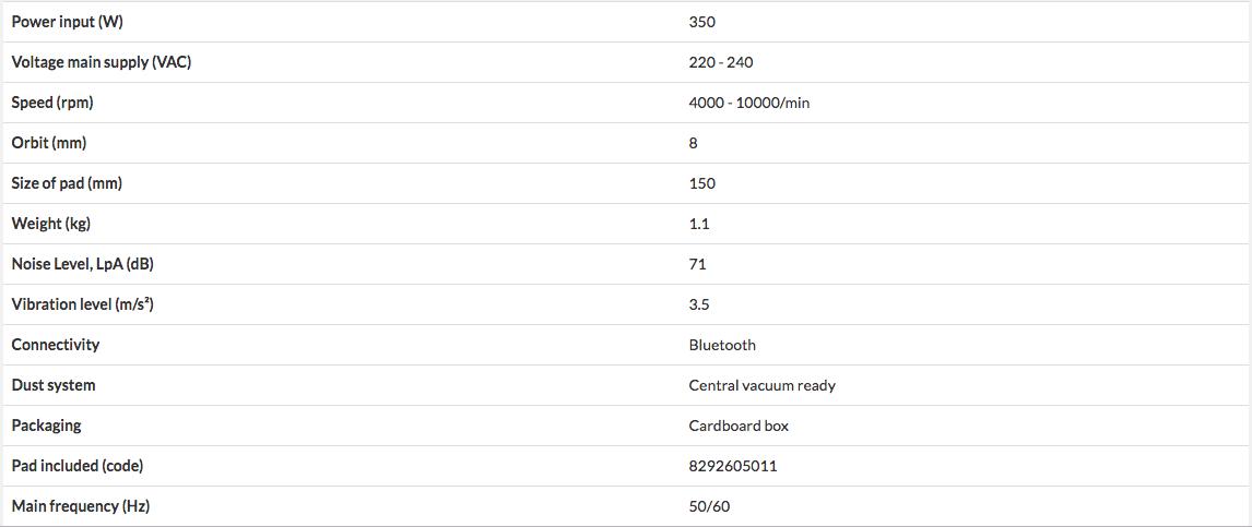 MÁY CHÀ NHÁM ĐIỆN Mirka DEROS 680CV 150mm MID6802022 - 4
