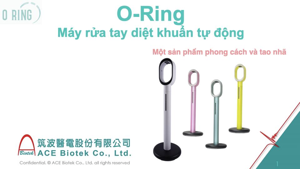 máy sát khuẩn tay tự động bơm dung dịch O-Ring - 10