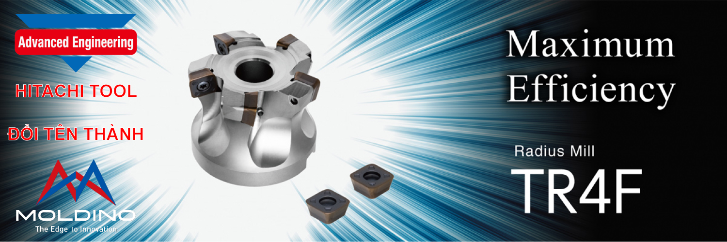 Moldino TR4F Indexable Milling