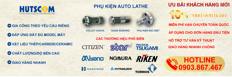Ưu đãi 10% KH mua phụ kiện Auto Lathe