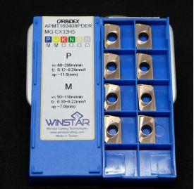 MẢNH DAO PHAY WINSTAR APMT160408 PDER-MG(CX32HS) -2