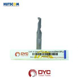 DAO PHAY CARBIDE 1F PHI 4 DYC EM20CA PHAY PVC BAKELITE 2